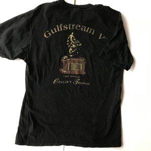 Gulfstream V T Shirt Medium Black 1997 VTG Flight
